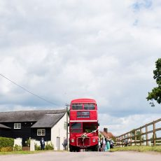 Travel in style to your wedding at Milling Barn